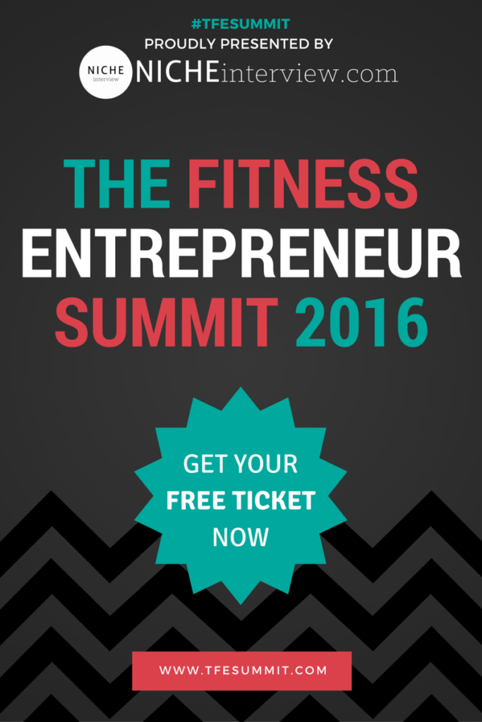 The Fitness Entrepreneur Summit 2016