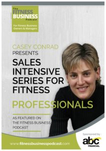 Casey Conrad Sales Intensive Series Cover Only